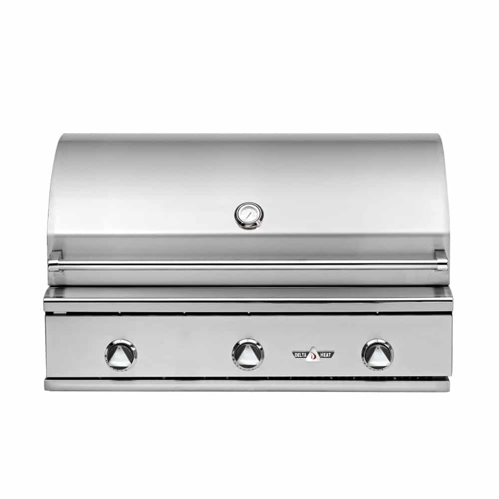 Delta Heat Premier 3 Burner Built In Gas Grill Marx
