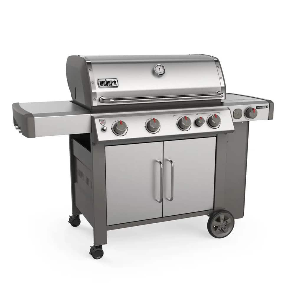 Weber Genesis Ii S 435 4 Burner Gas Grill With Side Burner