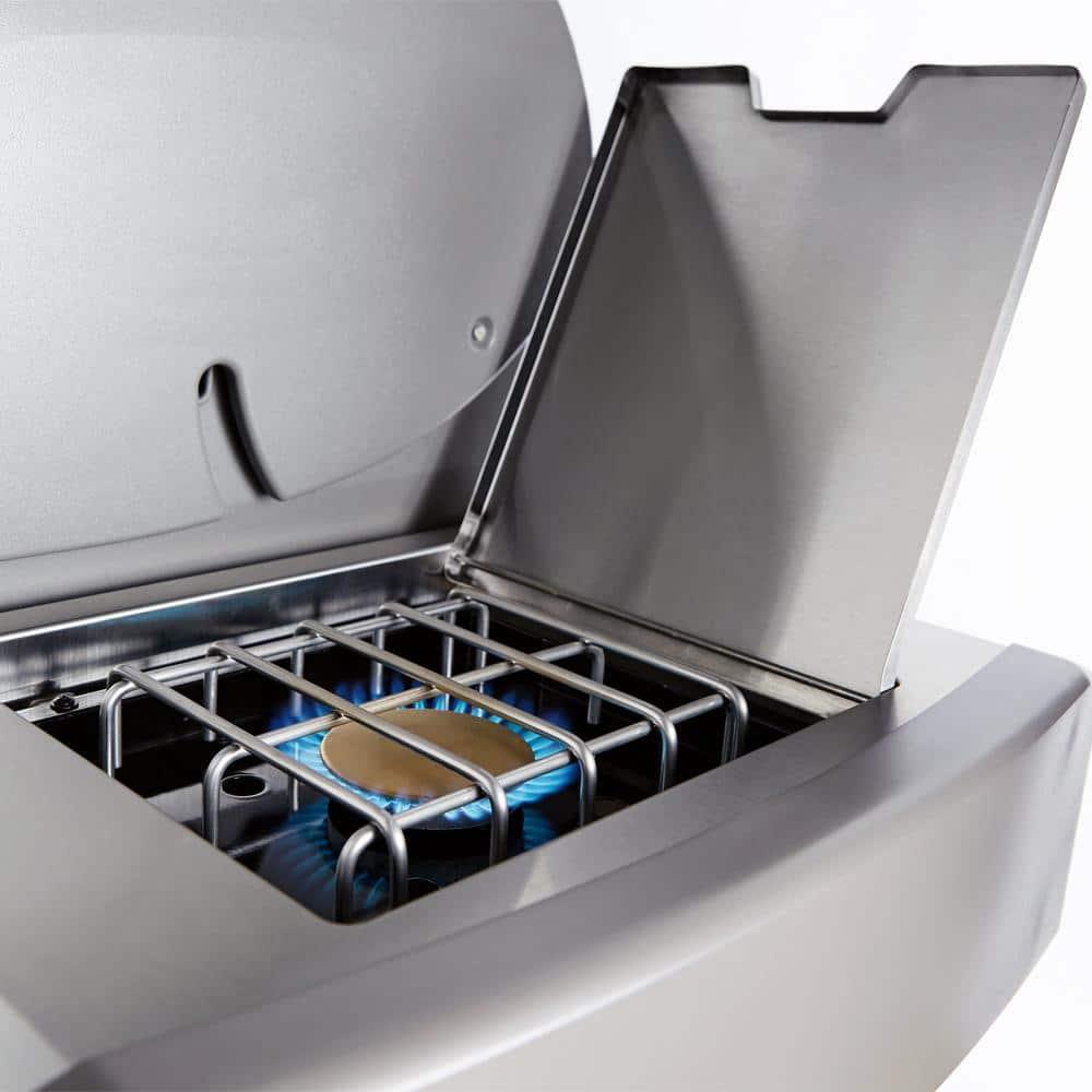 weber genesis ii e 335 3 burner gas grill with side burner. Black Bedroom Furniture Sets. Home Design Ideas