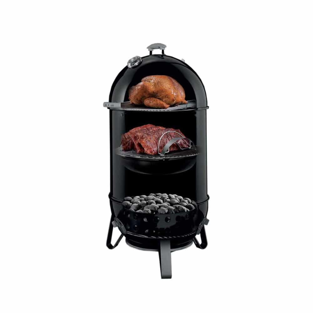 Weber Smokey Mountain Smoker >> Weber 22 Inch Smokey Mountain Cooker Charcoal Smoker Marx