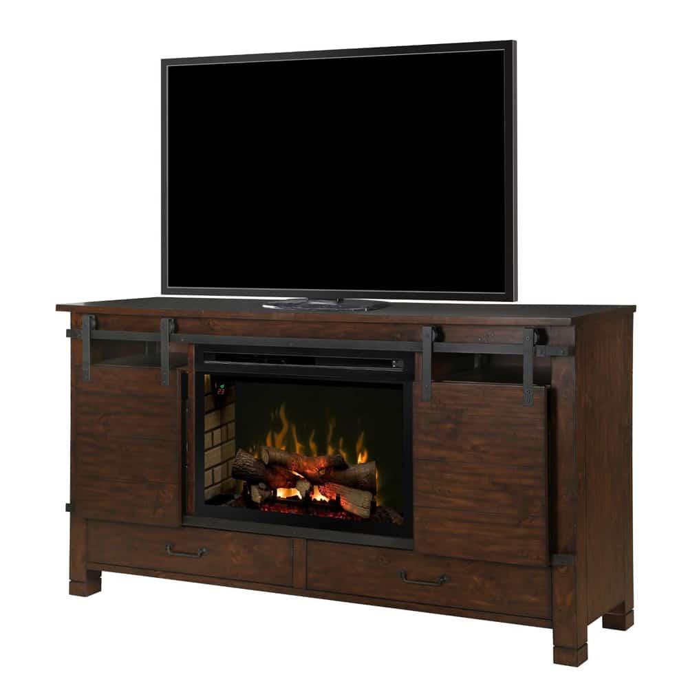dimplex austin 76 inch electric fireplace media console with multi rh marxfireplaces com  media centers with electric fireplaces