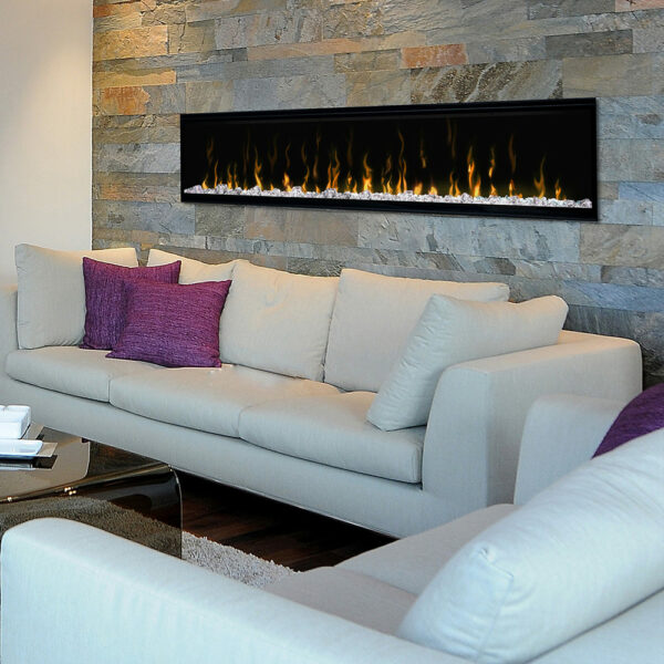 Marvelous Dimplex Ignitexl 74 Inch Linear Electric Fireplace Interior Design Ideas Helimdqseriescom