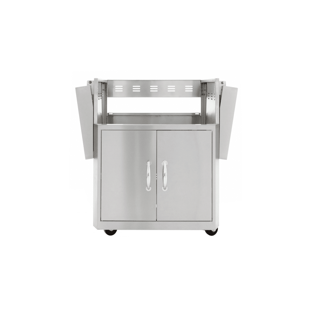 Blaze Stainless Steel Grill Cart for Professional 2-Burner Gas Grill