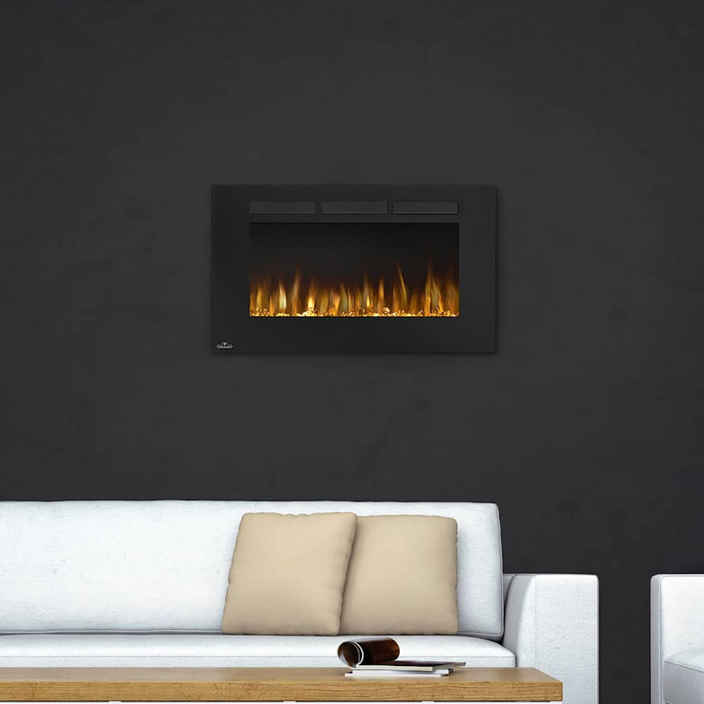 Napoleon Allure 42 Inch Linear Electric Fireplace Marx Fireplaces