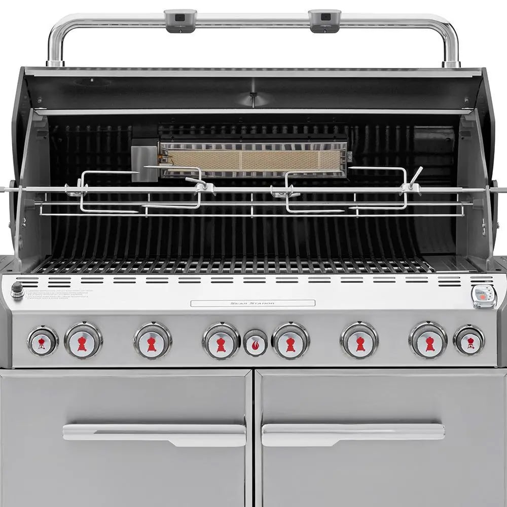 Weber Summit Grill Center with Rotisserie & Side Burner | Marx Fireplaces &  Lighting