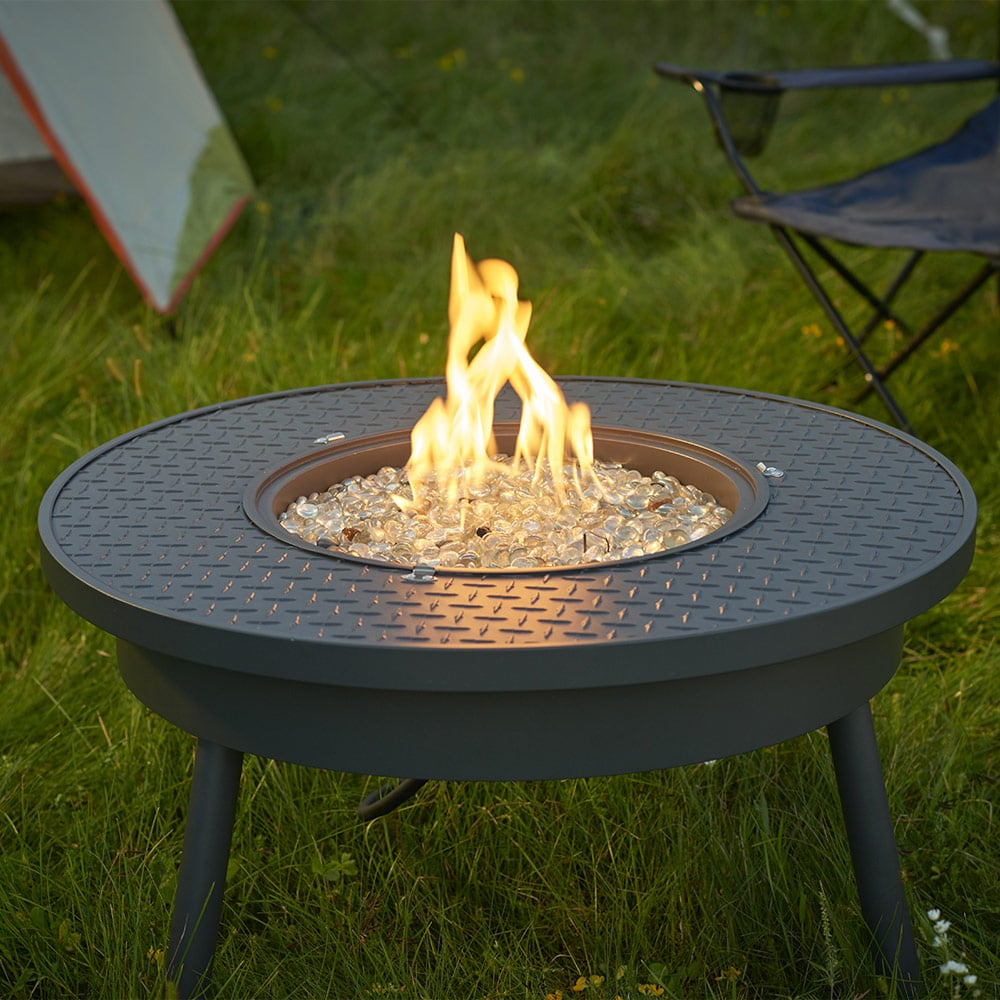 Renegade 32 Inch Portable Gas Fire Pit Table Marx