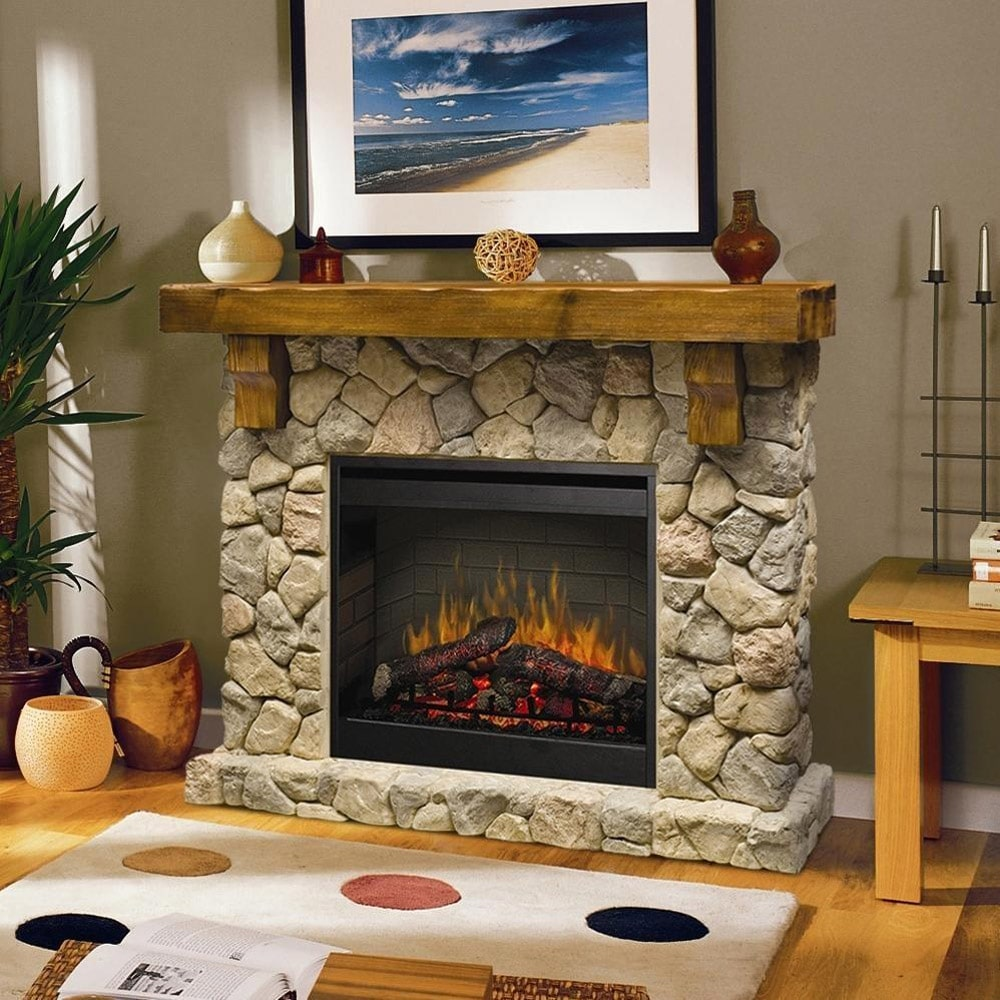 Amazing Dimplex Fieldstone 55 Inch Electric Fireplace Mantel Download Free Architecture Designs Barepgrimeyleaguecom