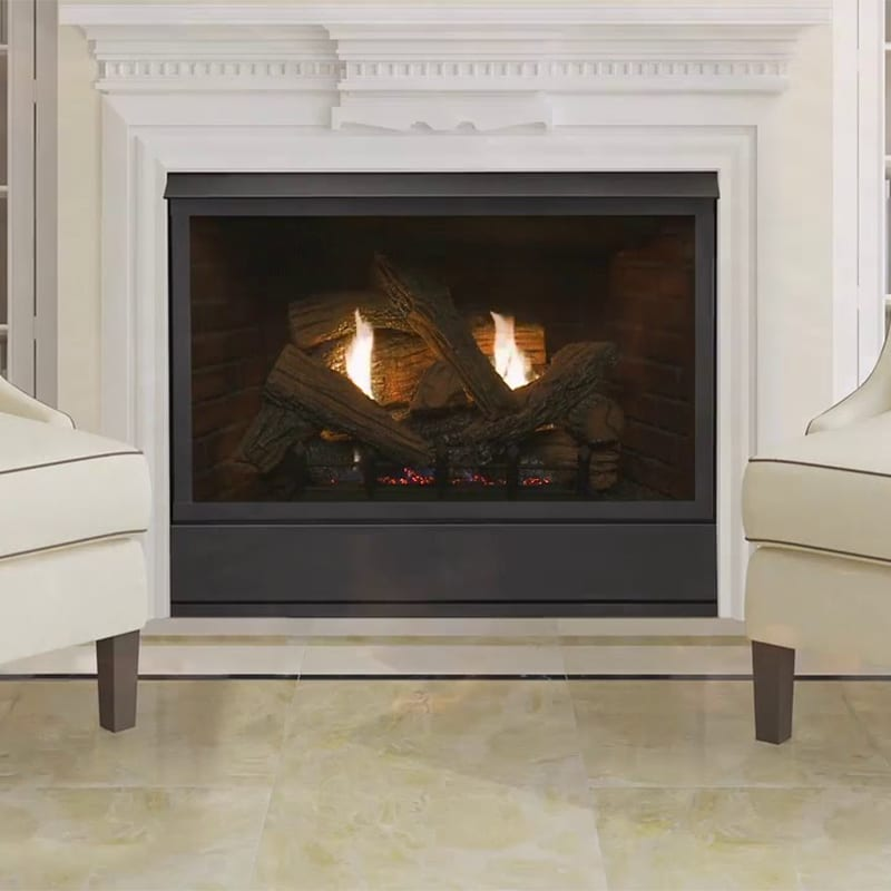 Brilliant Monessen Aria 36 Inch Ventless Gas Fireplace With Natural Blaze Burner Interior Design Ideas Jittwwsoteloinfo