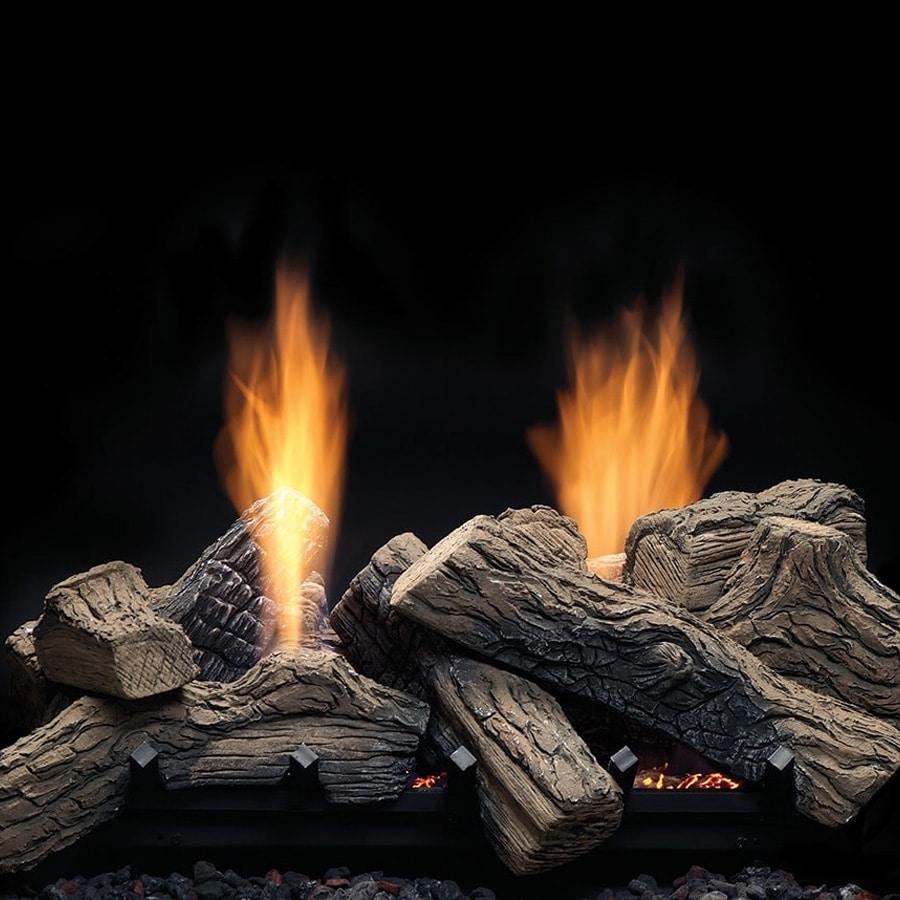 Monessen Natural Blaze See-Through Ventless Gas Log Set