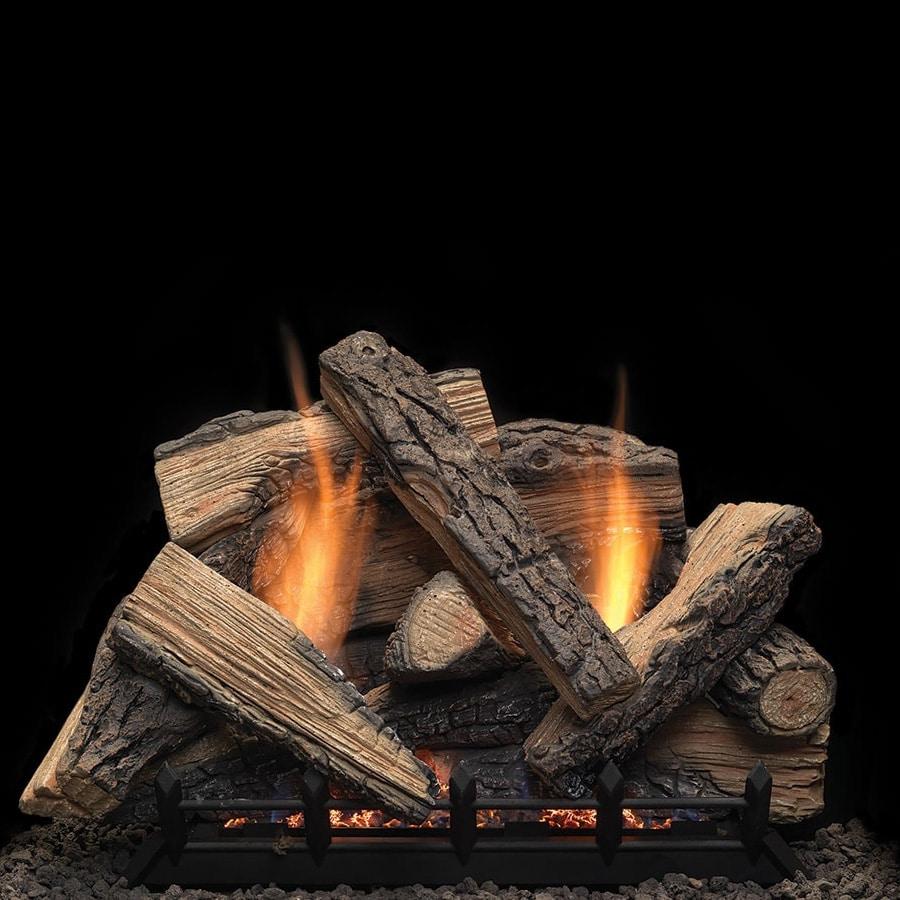 Monessen Stony Creek Ventless Gas Log Set with Natural Blaze Burner