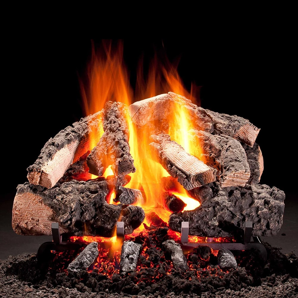 Hargrove Woodland Timbers Vented Gas Log Set With H Burner